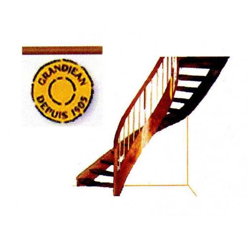 Escalier bois Grand Jean