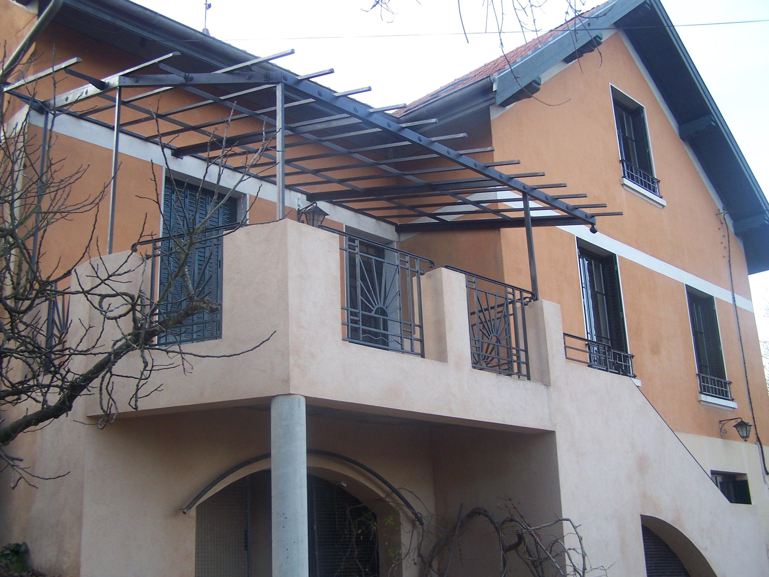 Evolution d'un balcon en terrasse