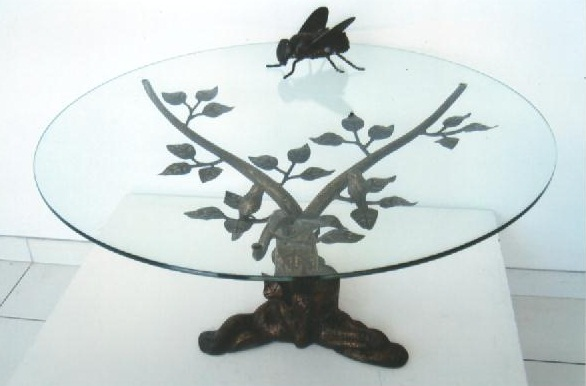 Table basse :l arbre de vie