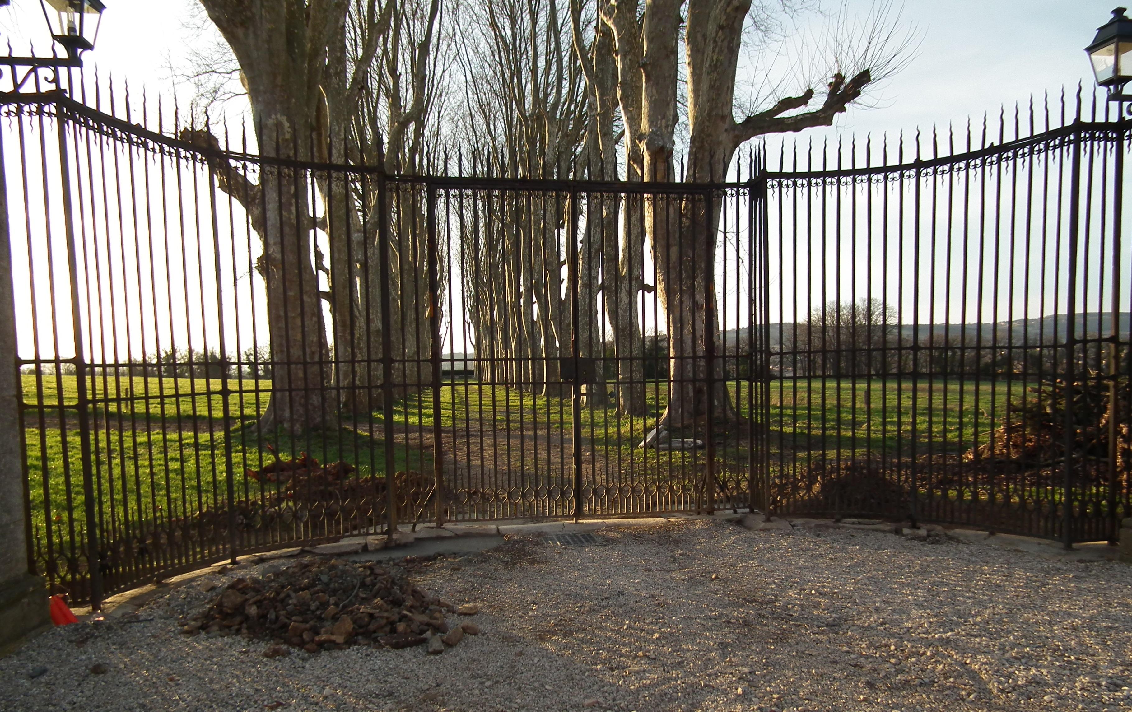 Restauration complète du portail