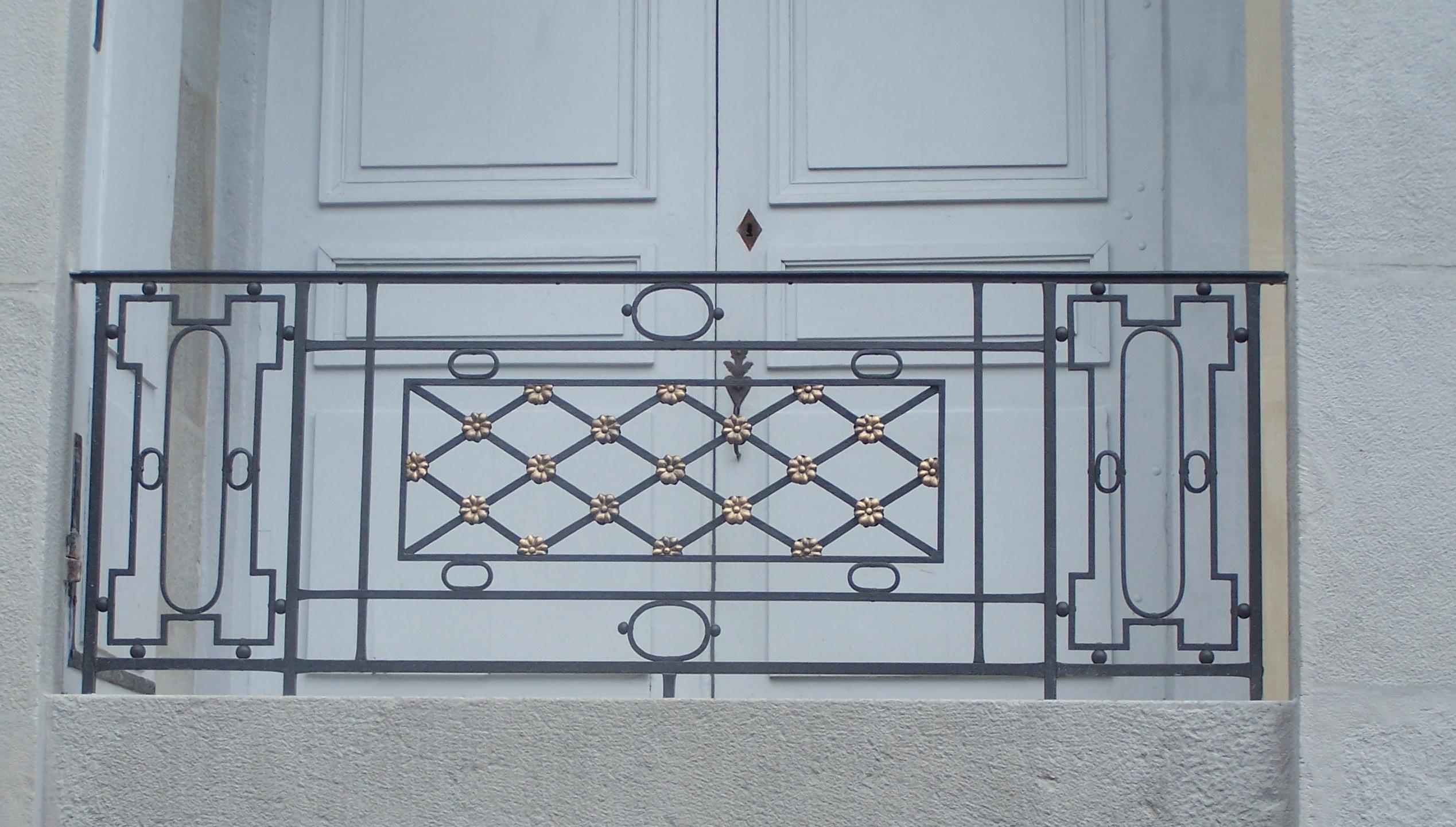 Balcon détail