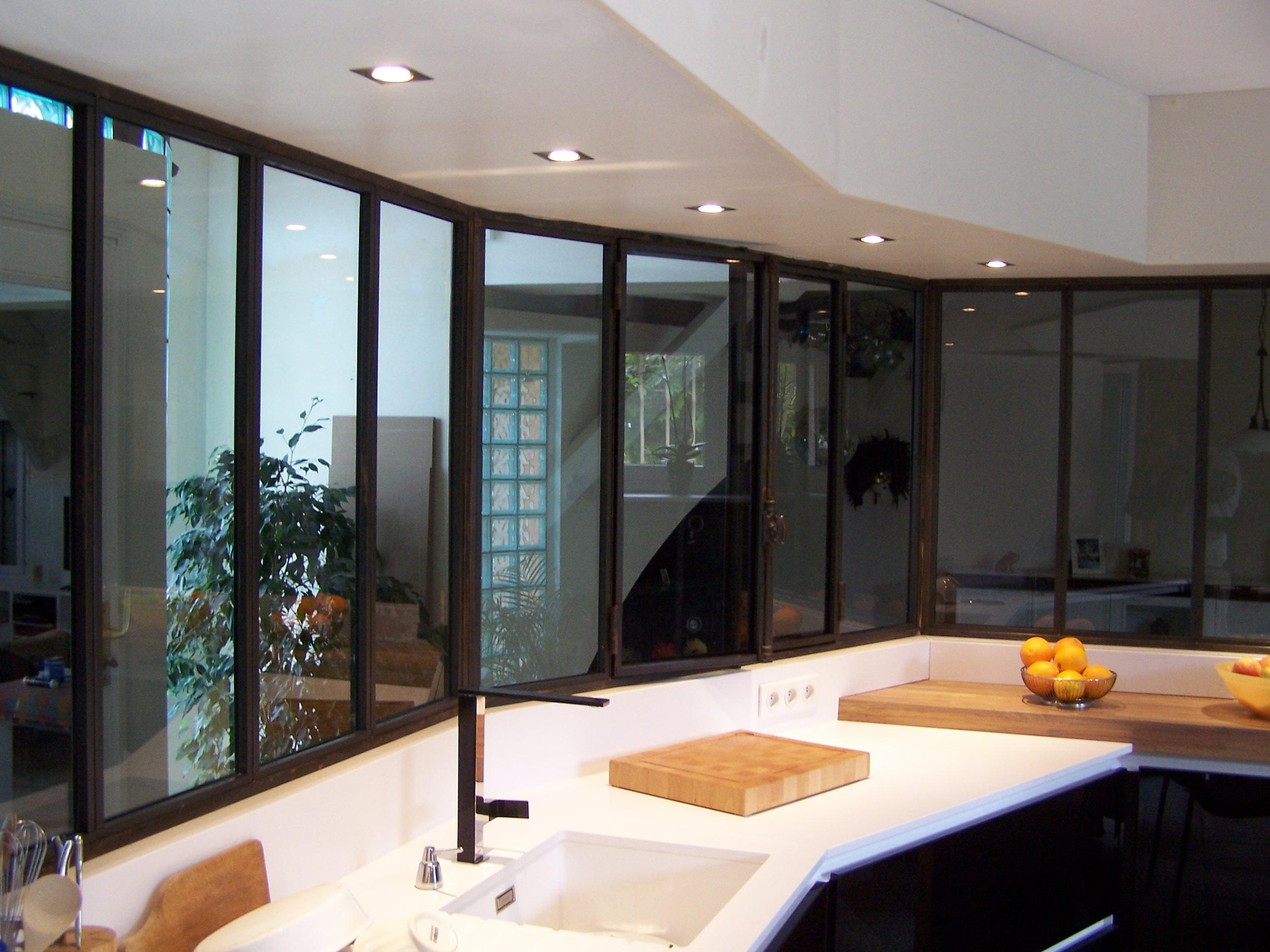 Cloisons vitrées d'intèrieur
