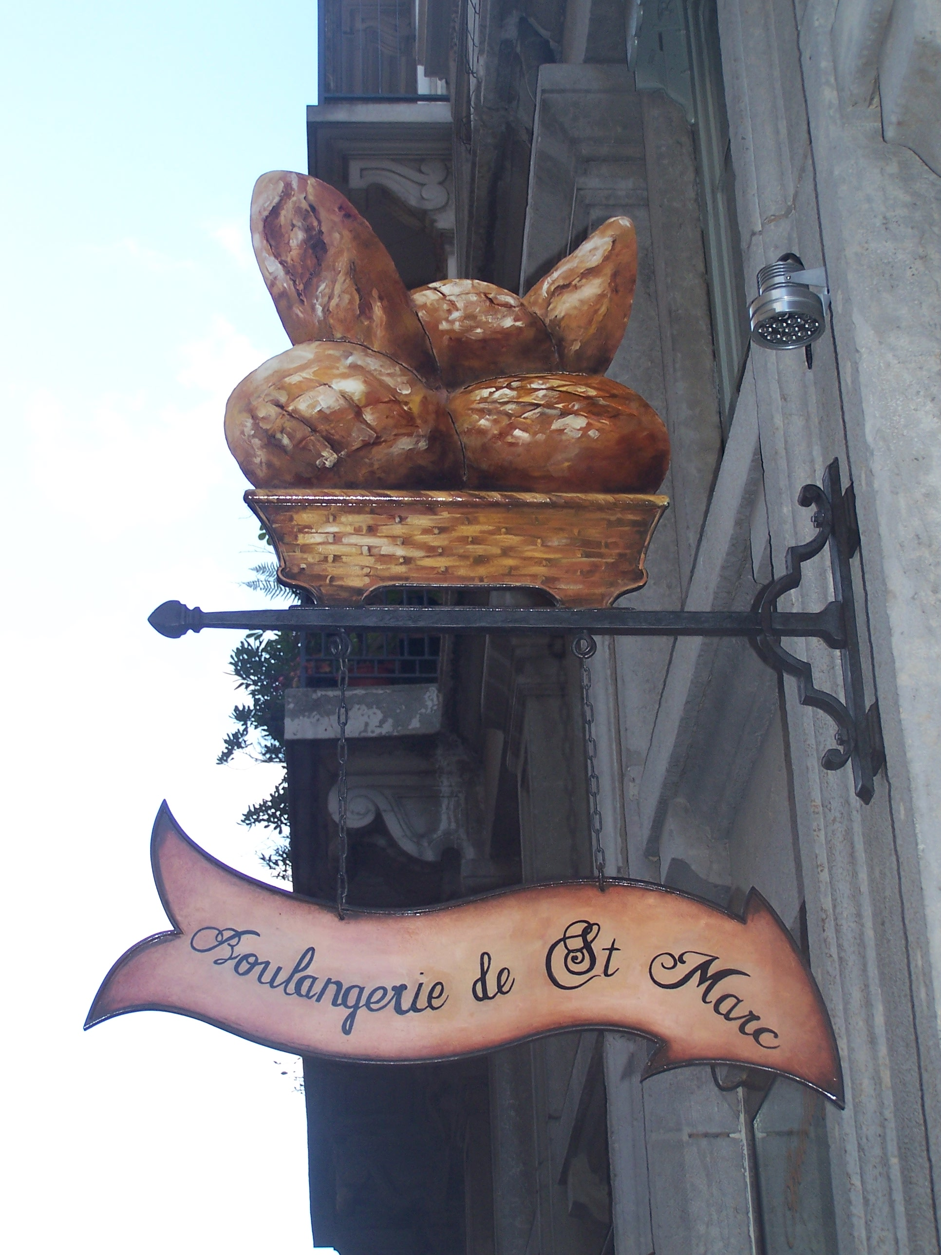 Enseignes de boulangerie