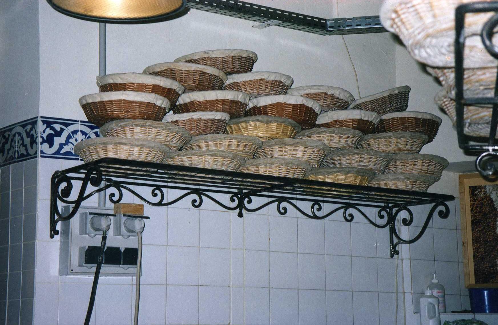 Etagère de boulangerie