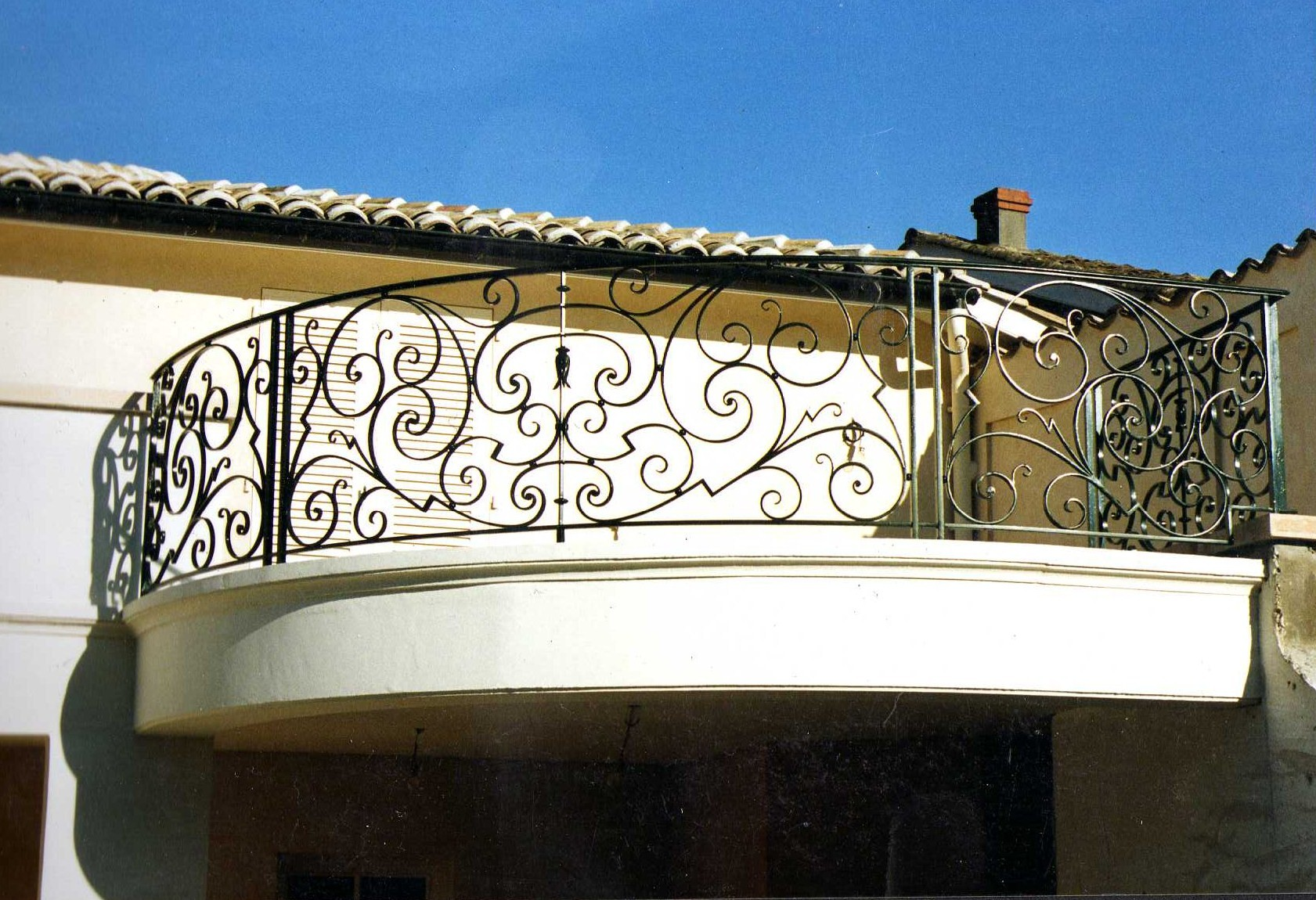 Balcon extérieur