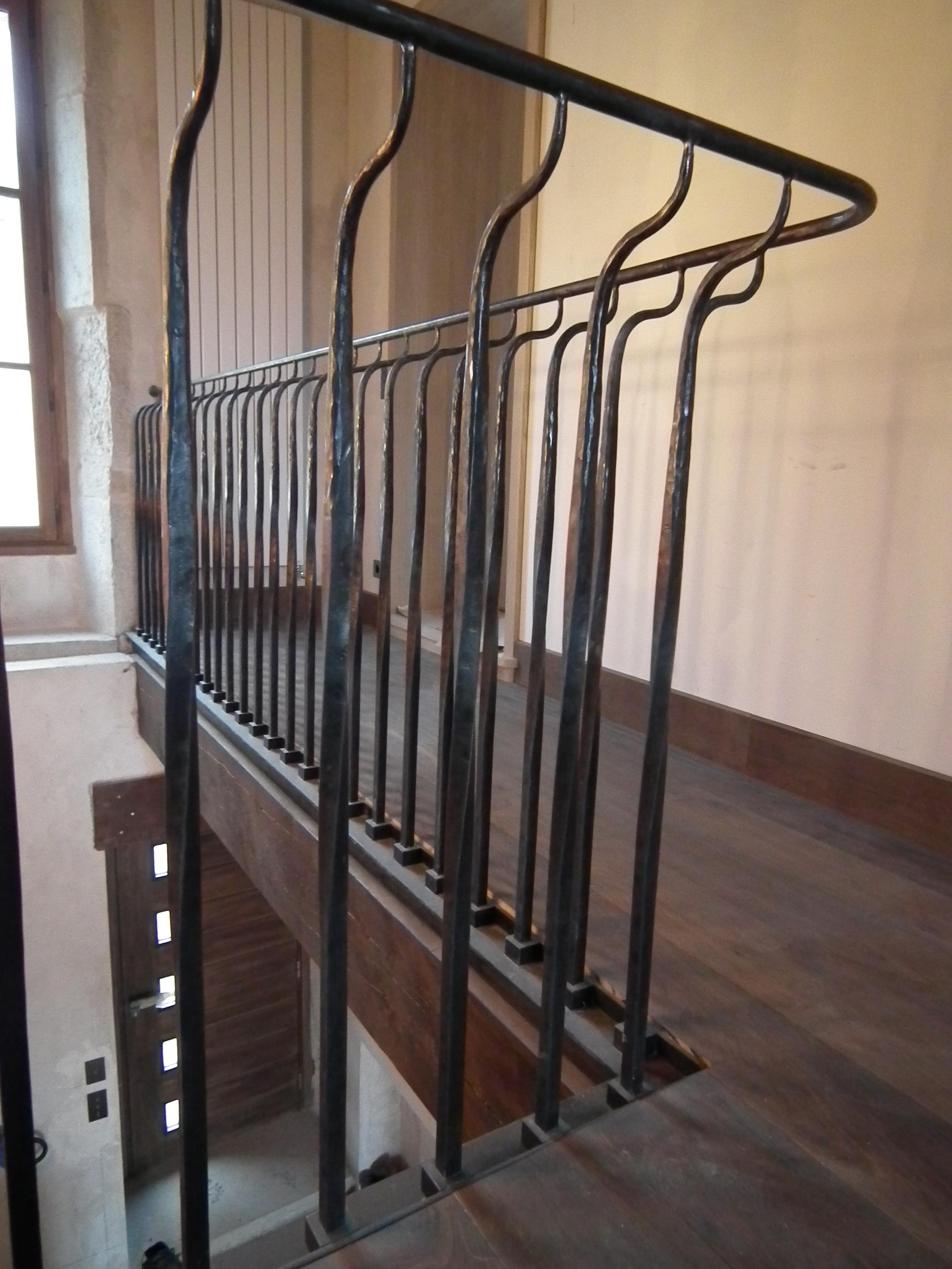 détail de rampe